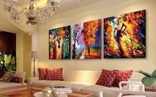 Использование картин в дизайне интерьера