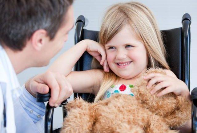 Работающая мама и ребенок инвалид