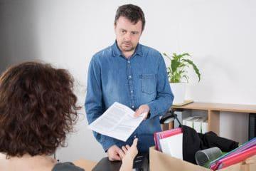 Увольнение в связи с реорганизацией отдела