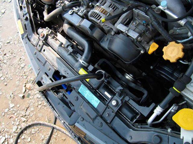 Долговременная промывка системы охлаждения двигателя