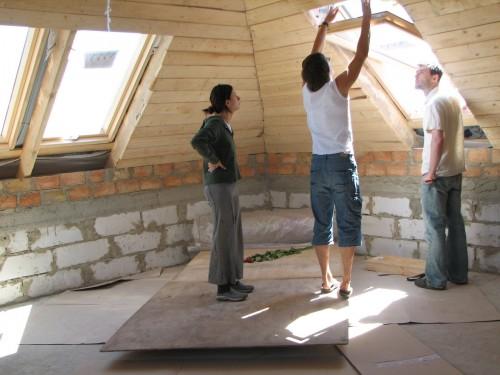 Надо ли мансарду частного жилого дома оформлять при резке