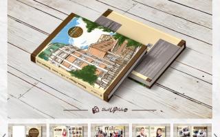 Печать школьных выпускных фотоальбомов в компании StartupFoto