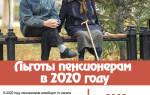 Льготы инвалидам в Москве в 2020 году