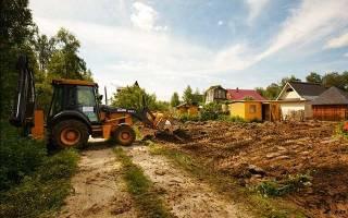 Обследование земельного участка под строительство