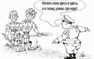 Знания инспектора ок по воинскому учету
