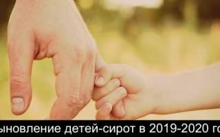Выплаты при усыновлении ребенка в 2020 году