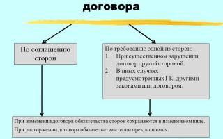 Досрочное расторжение договора займа образец соглашения