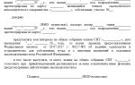 Образец протокола собрания СНТ — порядок его составления