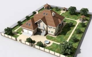 Где строить дом на участке по закону