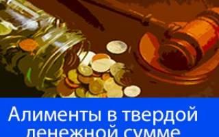 Какие справки нужны для алиментов в твердой денежной сумме