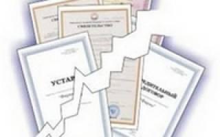 Уведомление о ликвидации юридического лица