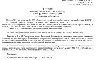 Увольнение в связи с ликвидацией организации выплаты