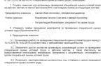 Приказ о создании комиссии по специальной оценке условий труда
